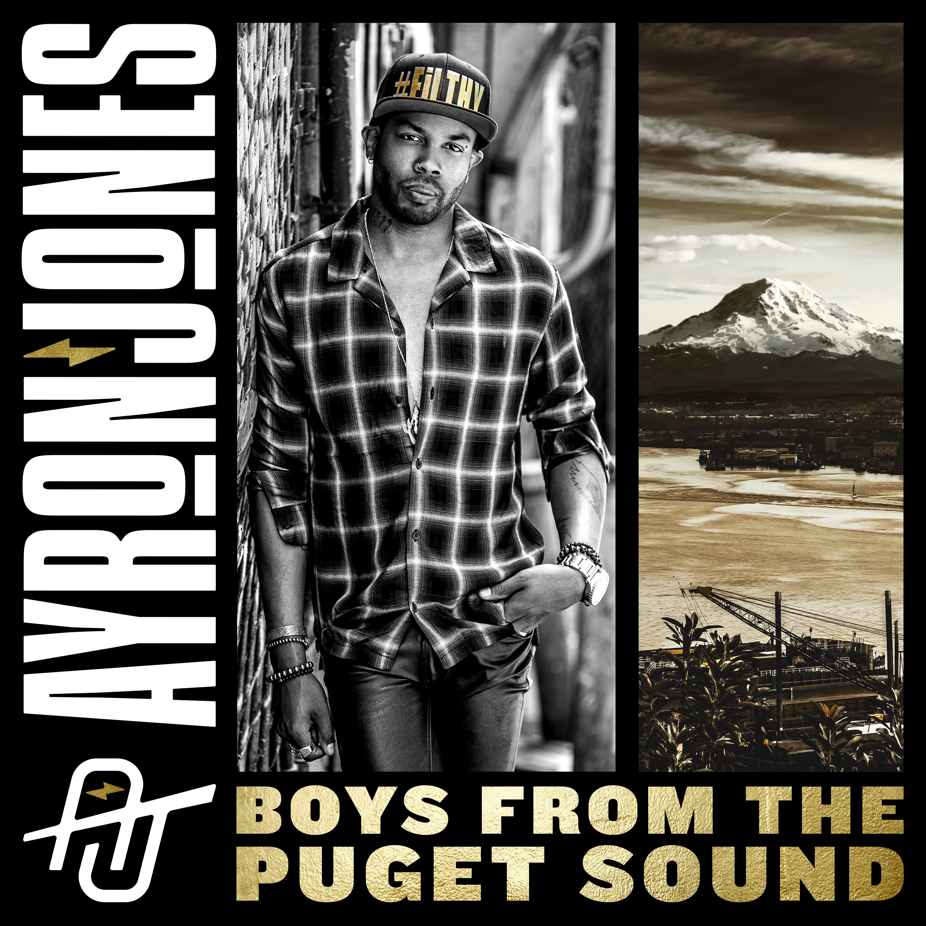 Ayron Jones 'Boys From The Puget Sound'single cover