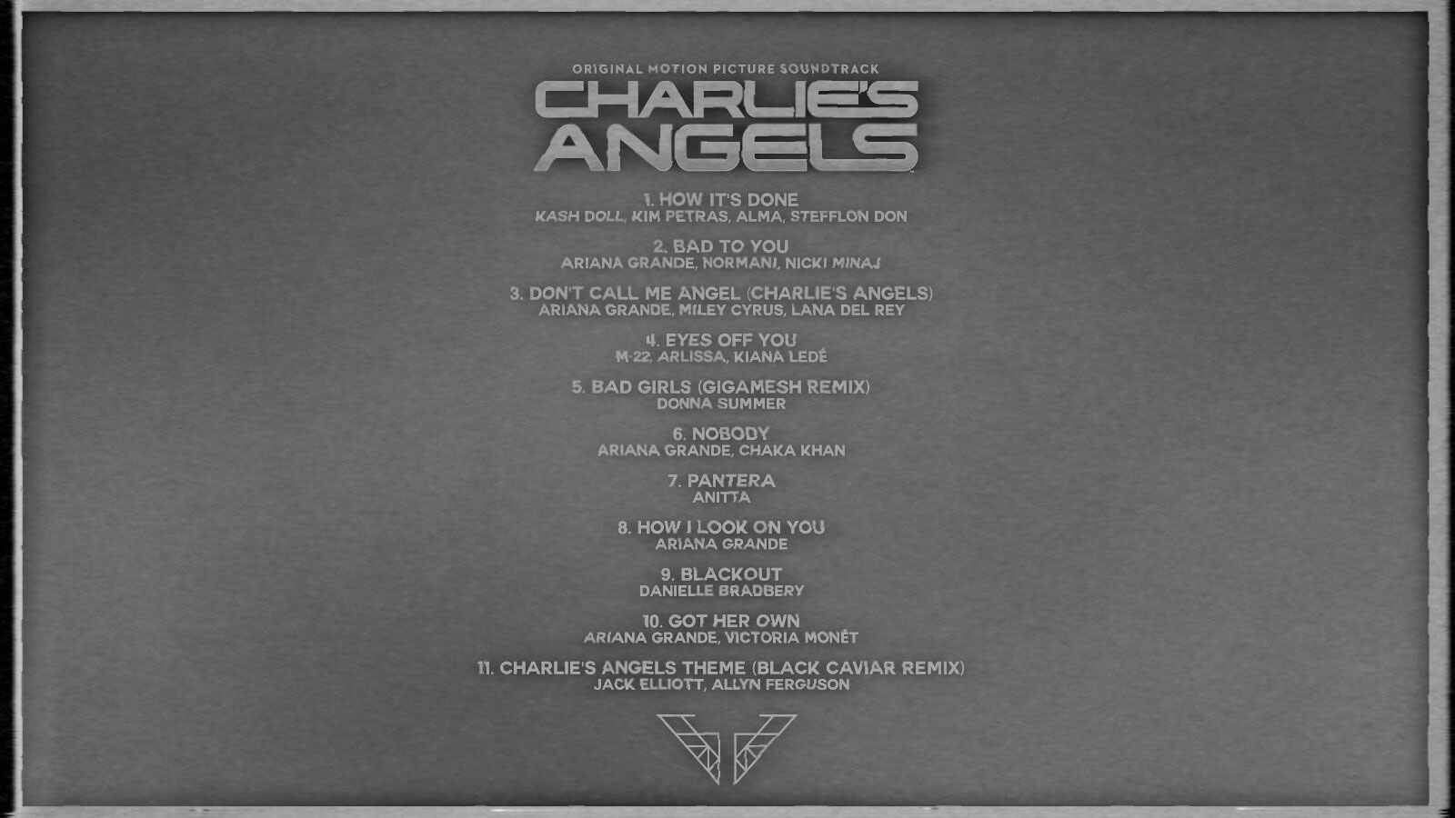 Charlie's Angels Soundtracks - Ariana Grande