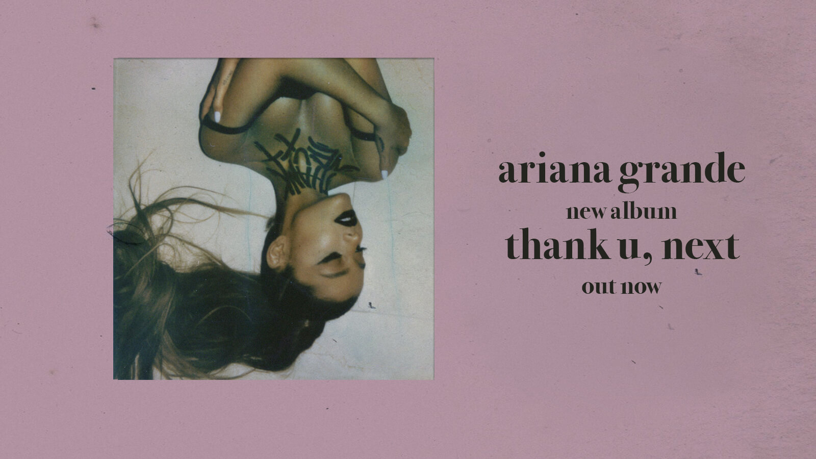 Ariana Grande New Album thank u, next available now