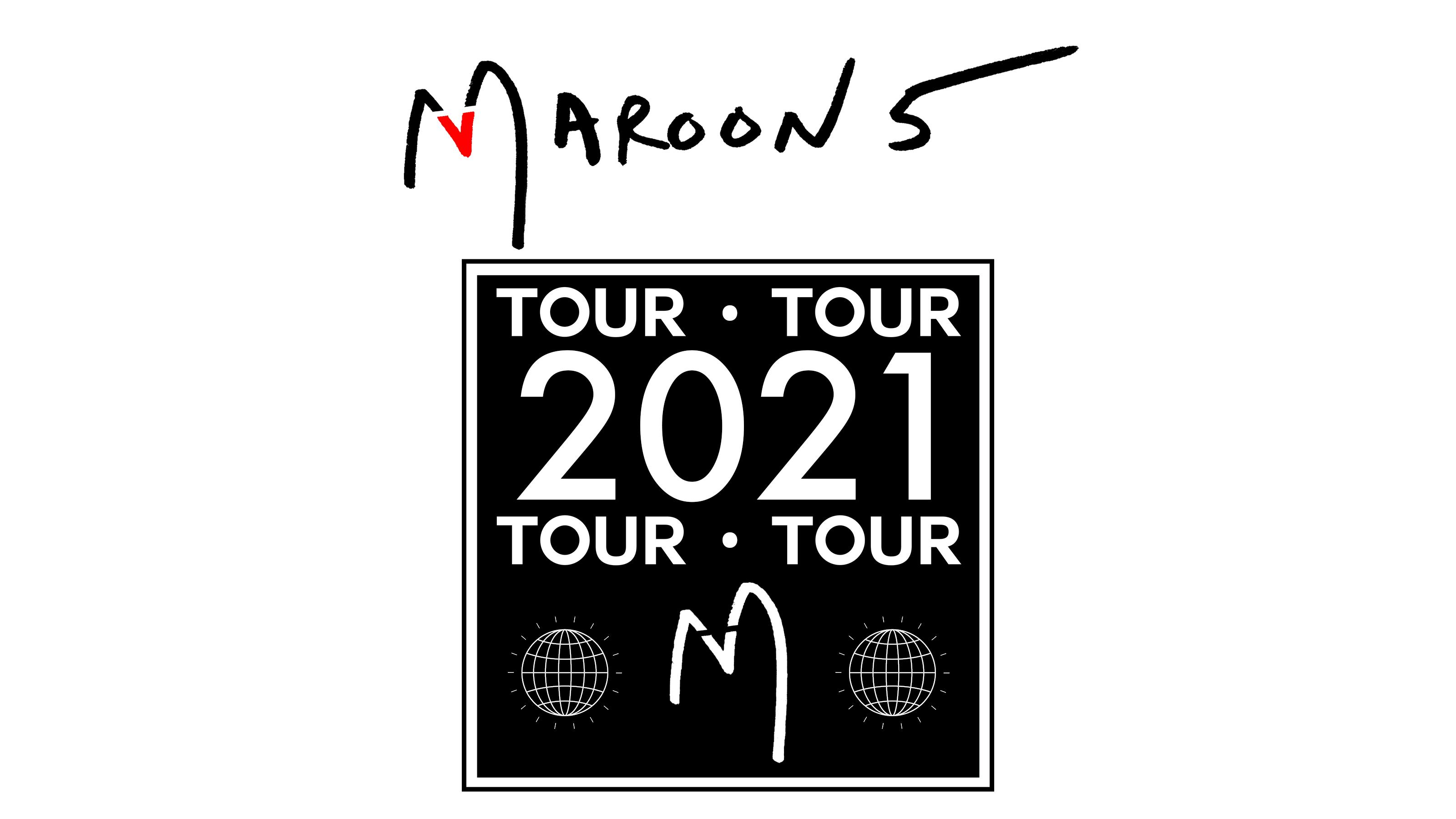 Maroon 5 - 2021 Tour