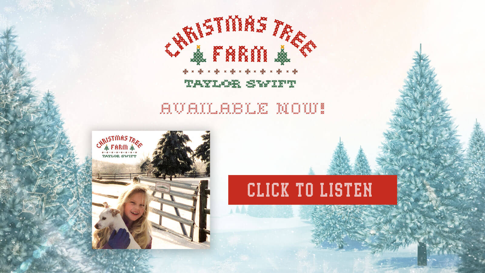 Christmas Tree Farm available now