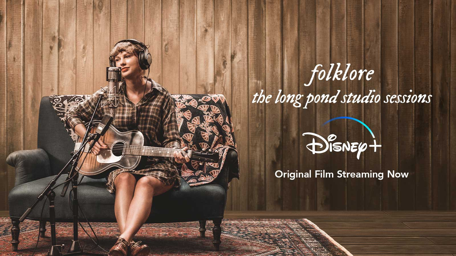 Folklore the long pond studio sessions Disney+ Original Film Streaming Now.
