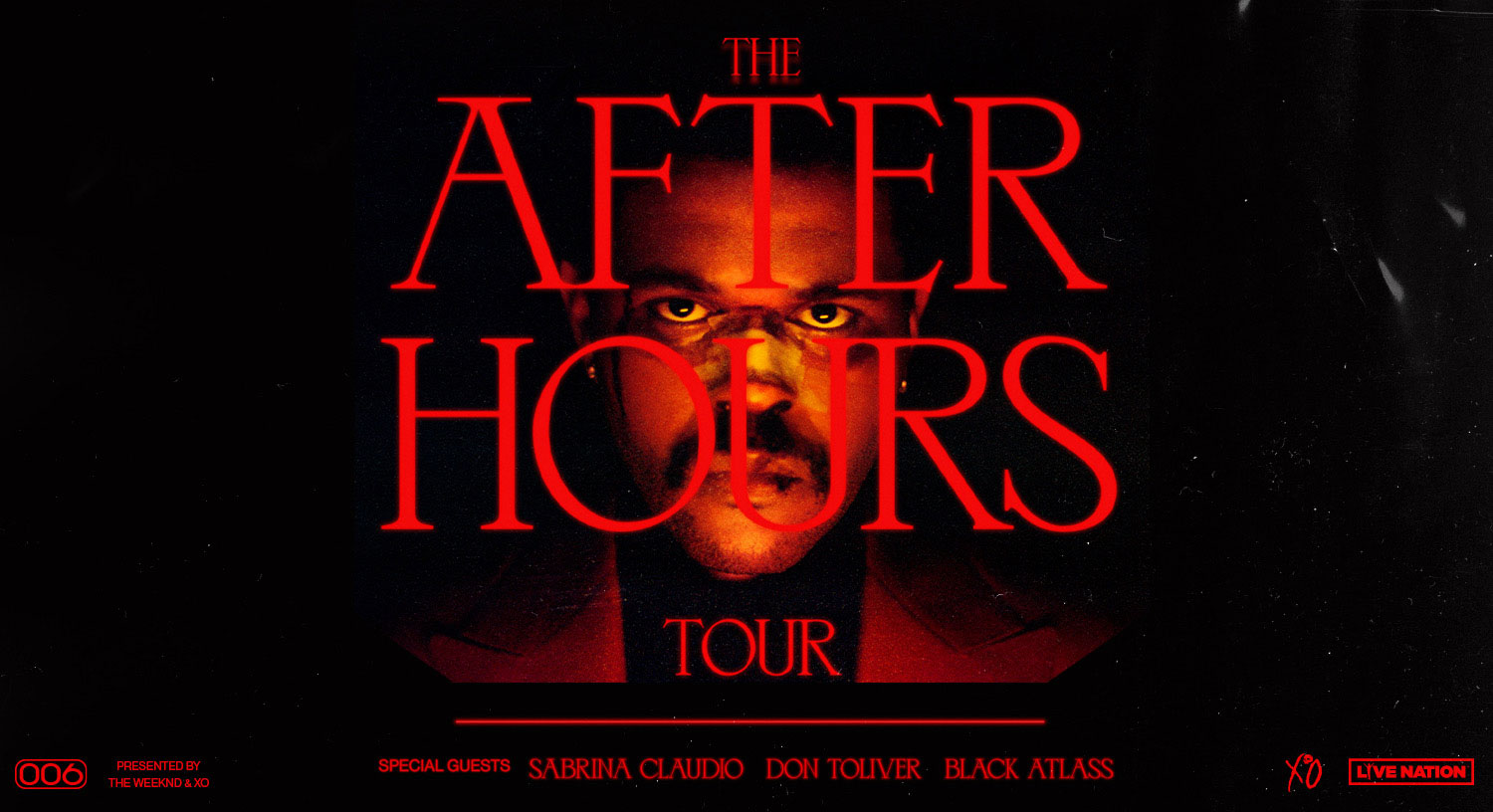 The After Hours Tour Presented by The Weeknd & XO.
